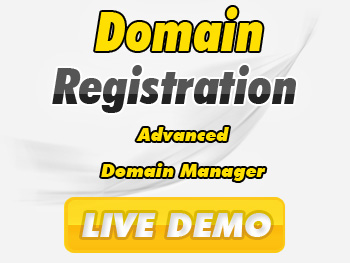 Modestly priced domain registration services